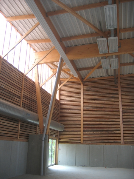 Agence COQ & LEFRANCQ - Salle omnisports de Beaumont du Périgord