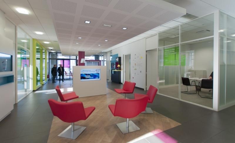 Agence COQ & LEFRANCQ architecte Sarlat - Crédit mutuel Périgueux Chanzy