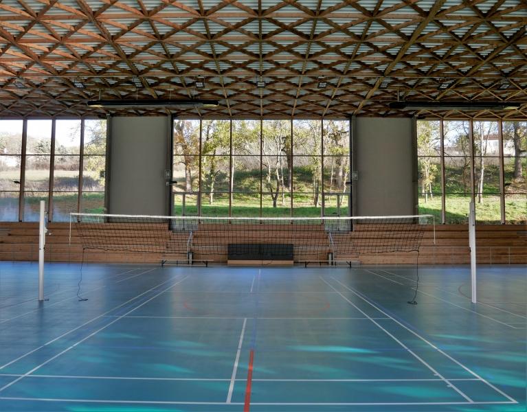 Agence COQ LEFRANCQ architecte Gymnase Le Vigan