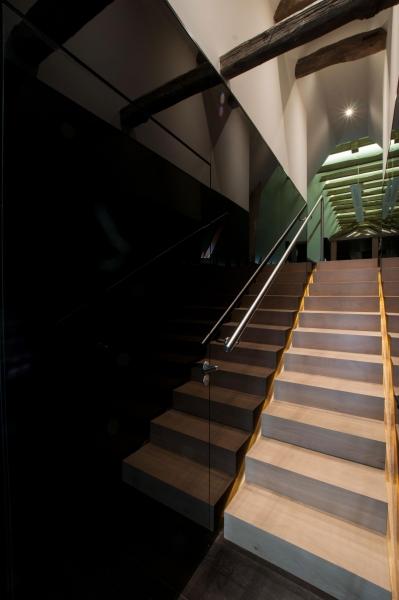 Maison la agence d 39 architecture coq lefrancq agence d 39 architect - Escalier en apesanteur ...