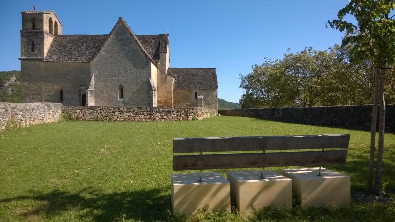 Agence COQ & LEFRANCQ - Vézac abords de l'église - Jardin contemplatif