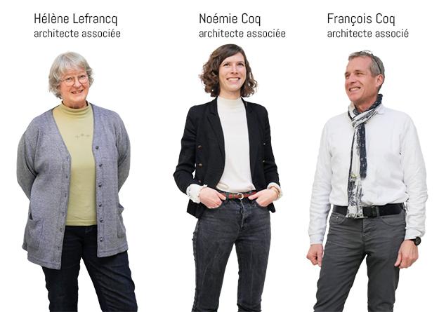Architecte Coq & Lefrancq Sarlat