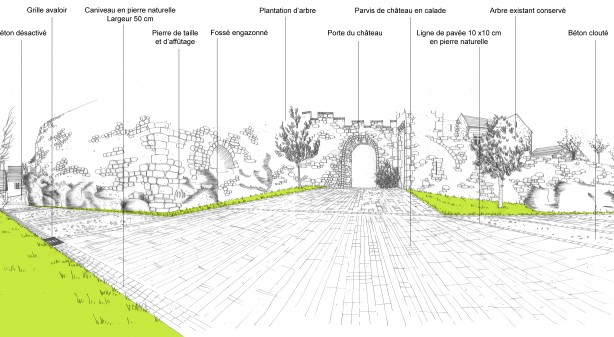 Agence d'architecture COQ & LEFRANCQ - Monfort - Parvis du Château