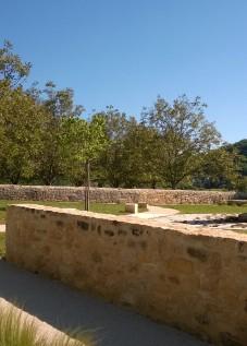 Agence COQ & LEFRANCQ - Aménagement paysager des abords de l'église de Vézac